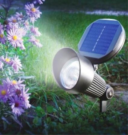 Luz solar para jardines for Focos solares para jardin