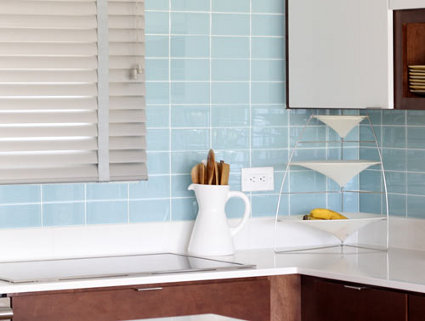 Reforma instalar azulejos de cristal en la cocina - Azulejos antiguos para cocina ...