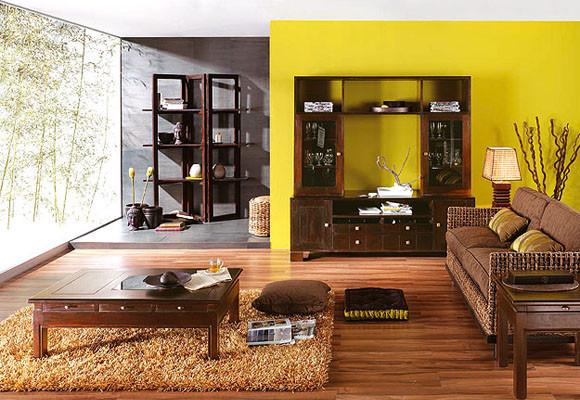 Hacer Del Baño Color Amarillo:Amarillo en la cocina