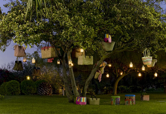 iluminaci n de las noches de verano ForIluminacion Arboles Jardin