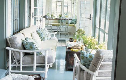 Terrazas cerradas c mo decorarlas - Como decorar tu porche ...