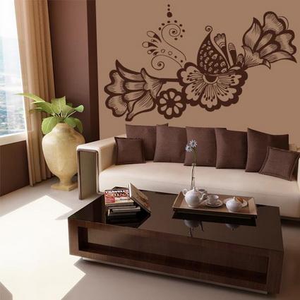 Tienda online de vinilos decorativos para decorar paredes for Decoracion paredes sala