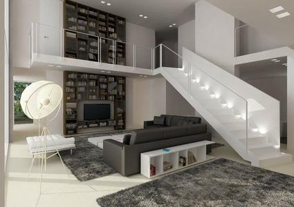 Escaleras con mucho estilo for Escaleras interiores pequenas