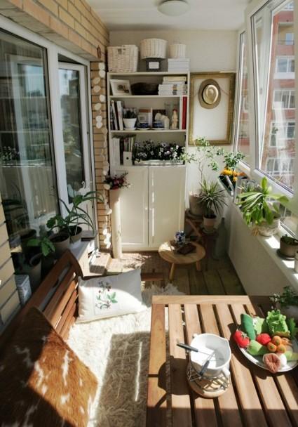 Decoraci n de balcones for Mobiliario para balcones