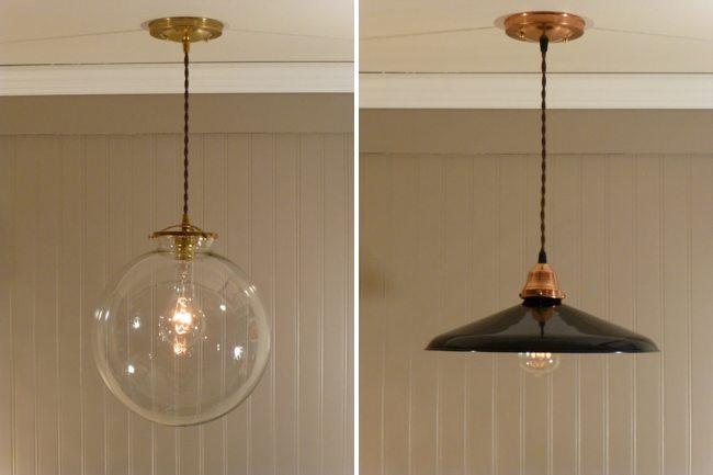 Lamparas Baño Vintage:Lámparas de cobre, dale un toque vintage a tu iluminación