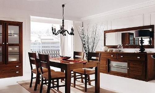 Consejos para decorar el comedor for Espejos para salon comedor