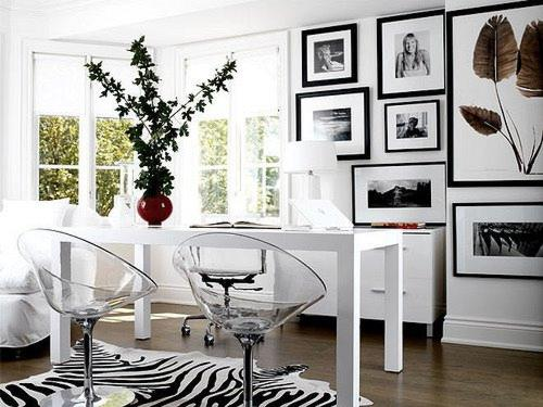 Tips Para Decorar en Blanco y Negro
