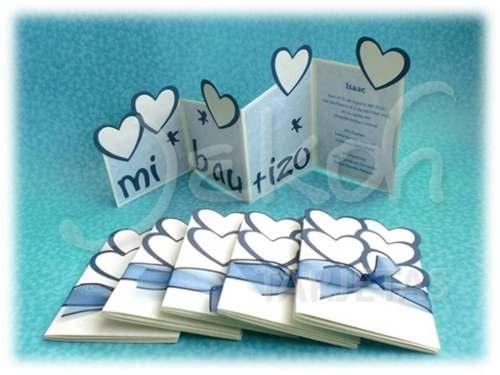 Ideas para hacer tarjetas de bautizo - Ideas para bautizo en casa economica ...