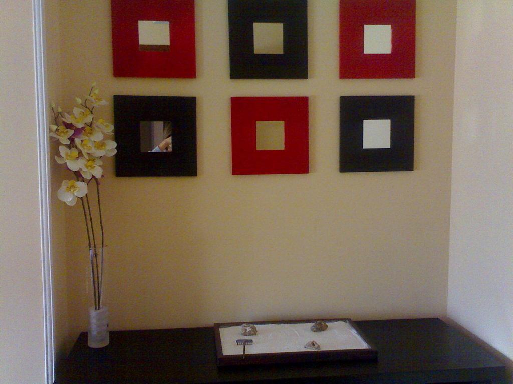 Montajes con espejos para decorar for Decoracion con espejo
