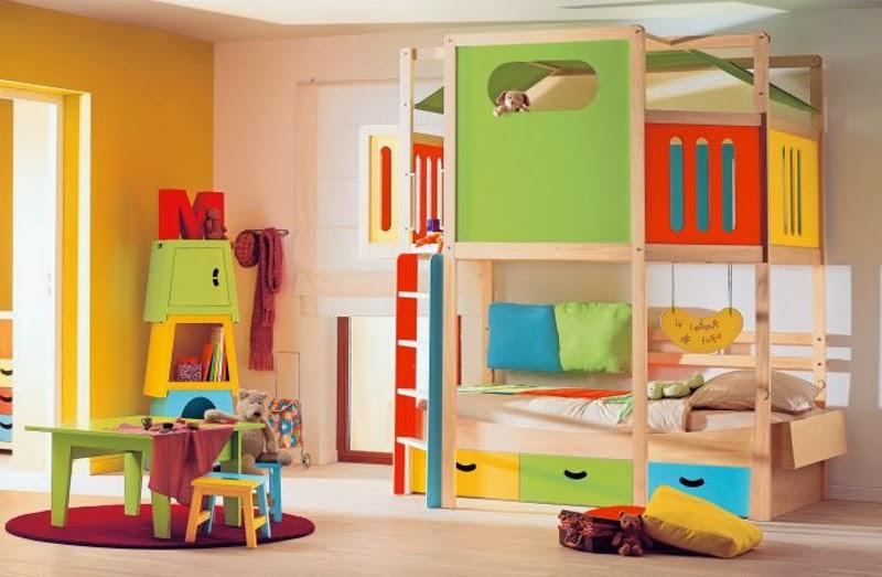 Beneficios de los colores en las habitaciones para ni os - Decorar habitaciones de ninos ...
