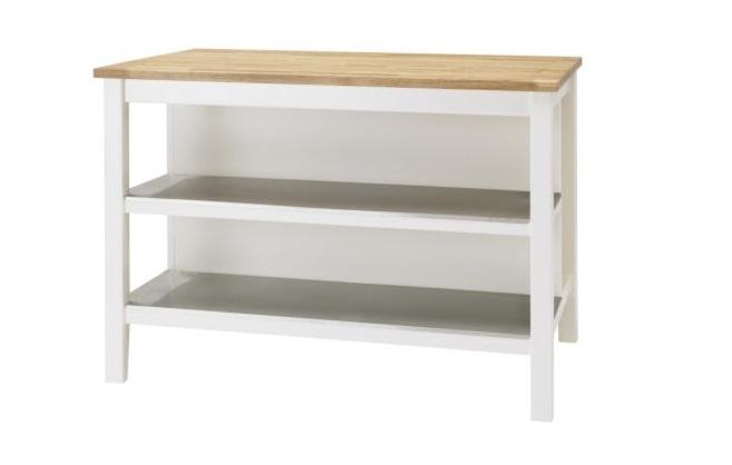 Utilizar una isla como elemento en nuestra cocina - Muebles auxiliares en ikea ...
